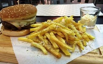 Menu Completo de Hambúrguer por apenas 5€, em Ermesinde!