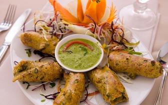 Almoço Típico Indiano com Requinte para 2 pessoas por 12,50€, em Coimbra!