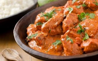 Menu Indiano ao Jantar para 2 pessoas por 24,90€ nos Restauradores!