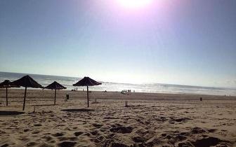 Dia na Praia da Costa da Caparica com Espreguiçadeira + Sombra + Refeição ligeira + Bebida por 9,50€!