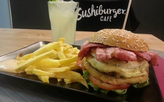 Menu Completo de Hambúrgueres Gourmet para 2 Pessoas por apenas 14€, em Picoas!