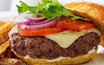 Menu Hambúrgueres para 2 Pessoas por apenas 8€ em Benfica ao Almoço!