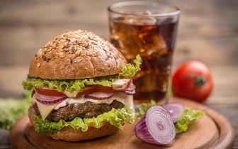 Menu Completo de Hambúrgueres para 2 Pessoas por apenas 10€, em Benfica ao jantar!