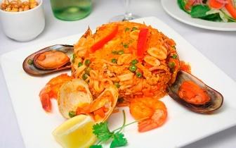 Refeição Requintada: Menu Completo para 2 Pessoas por 35€ em Gaia ao almoço!