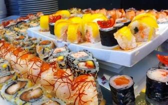 Buffet de Sushi Clássico & Teppanyaki ao Almoço por 10,90€, no Porto!