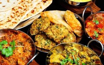 Sabores Indianos num Menu para 2 Pessoas ao Almoço por 16€ em Oeiras!
