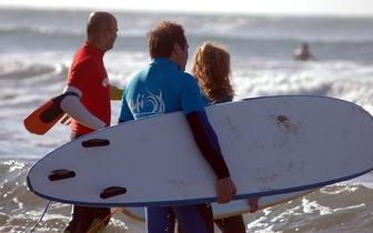 Venha experimentar uma aula de Surf por apenas 5€!