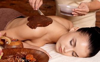 Cuide de si: Massagem de Chocolate + Exfoliação por 13€, em Gondomar!