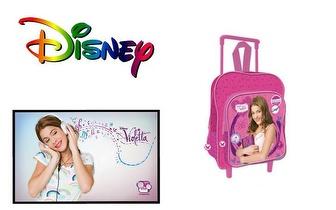Mochila Trolley Escolar Violetta da Disney por 34,50€ com portes incluídos!