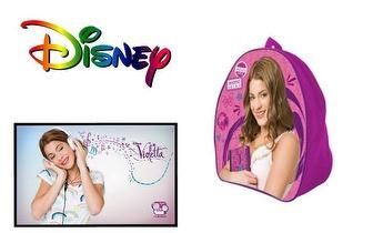 Mochila Escolar Violetta da Disney por 18€ com portes incluídos!