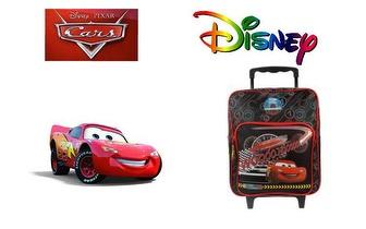Mochila Trolley Escolar Cars da Disney por 33€ com portes incluídos!