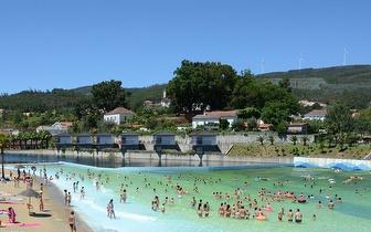 Pack para 2 Pessoas na Praia das Rocas: Entradas + Almoço + Ginásio e Ténis ou Animação de Praia por 19€!