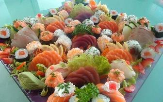 Jantar Romântico Completo de Sushi de Fusão para 2 Pessoas por 45€, em São Domingos de Rana!