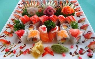 All You Can Eat de Sushi de Fusão para 4 Pessoas + Bebidas por 79,90€, em São Domingos de Rana!