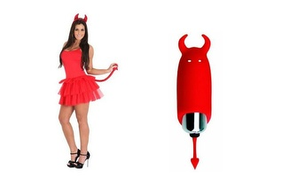 Liberte a Diabinha que há dentro de si: Mini Vibrador Diabinho por 21,45€ com portes!