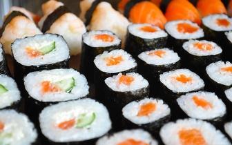 Menu do Dia de Sushi: Entrada + Combinado + Bebida + Sobremesa + Café por 5,50€, em Sete Rios!