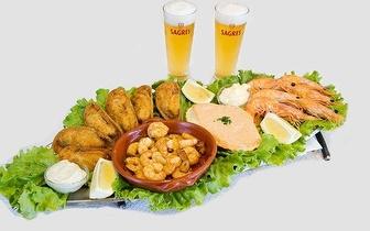 Mariscadas, Petiscos ou Cozinha Tradicional na Avenida de Berna!