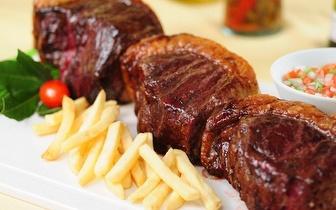 Rodízio Executivo Argentino e Brasileiro ao Jantar para 2 pessoas por 29€, nas Amoreiras!