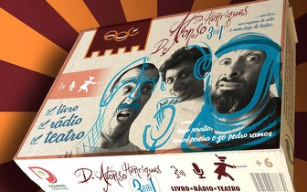Peça de Teatro: 'D. Afonso Henriques 3eme1 - Num Livro, num programa de Rádio e numa peça de Teatro!