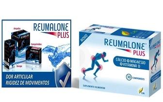 Previna a Osteoporose com o Reumalone Plus Cálcio por 8.80€!
