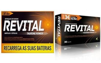 Revital Taurine Power por 11,90€ em Setúbal!