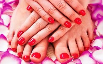 Arranje as suas Mãos e Pés: Manicure + Pedicure por 17€ em Caxias!