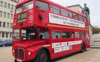 Alugue um Bus por 2h para a sua Festa ou Evento por 350€, na zona do Porto!