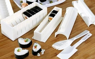 Conjunto de Moldes para Sushi por 11,90€ com entrega em todo o país!