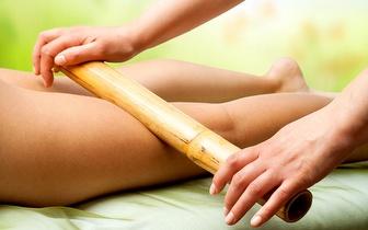 Massagem Anti-celulítica com Bambu e/ou Ventosas por 30€, na Praça de Londres!