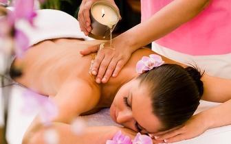 Massagem de Velas Quentes com Alinhamento de Chakras por 30€ na Praça de Londres!