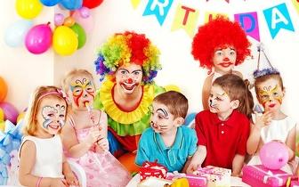 Festa de Aniversário com Pinturas Faciais e Balões, para até 30 crianças, por apenas 38€!