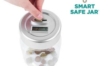 Mealheiro Digital Smart Safe Jar por 7,50€ em Torres Novas!