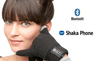 Luvas Tácteis Mãos Livres Shaka Phone por 22,90€ em Torres Novas!