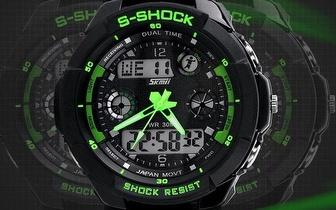 Relógio Desportivo Verde, Azul ou Preto por apenas 19,90€!
