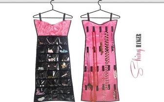 Vestido Organizador de Bijuteria Shiny Hanger por apenas 10,90€!