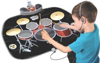 Tapete Bateria Musical para Crianças por apenas 27€!