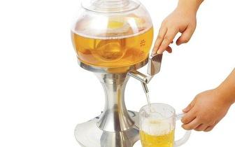 Sirva a sua Bebida Fresquinha: Dispensador e Refrigerador de Bebidas por apenas 25€!
