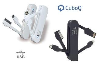 Cabo USB Multifunções Cubo Q por apenas 9,90€!