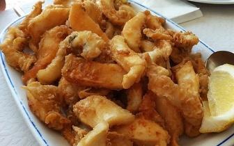 Almoço de Choco Frito para Grupos por 12€/pessoa, em Setúbal!