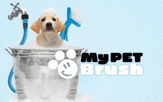 Escova e Mangueira para Animais de Estimação por 16,95€, envio para todo o país!