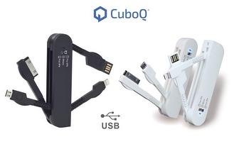 Cabo USB Multifunções Cubo Q por 10,50€, envio para todo o país!