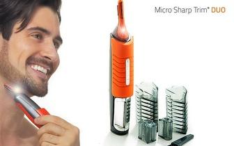 Micro Sharp Trim Duo para Barba e Cabelo por apenas 12,95€!