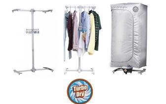 Secador de Roupa Vertical 360º para até 10kg de Roupa por 49€!