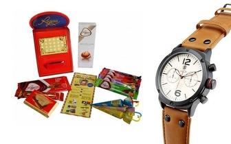 Mítica Caixa de Furos Regina® + Relógio Calgary Alpha Team Evolution por 30,90€!