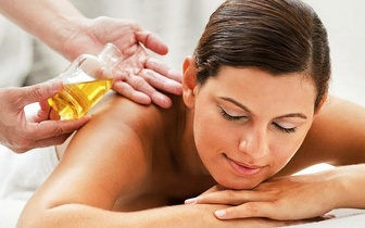 Ritual de Massagem de 30min com Óleo de Chocolate Branco por apenas 9,50€ na Quinta do Conde!