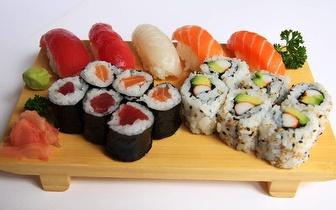 Menu de Almoço para Grupos All You Can Eat de Sushi + Bebida à Descrição por 12€/pessoa em Alcântara!