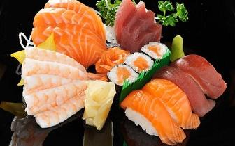Almoço de Grupo All You Can Eat de Sushi + Bebida à Descrição por 12€/pessoa em Alverca!