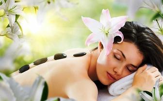 Massagem de Relaxamento de 60min com Pedras Quentes ao Corpo Inteiro por 37,50€ em Quarteira!