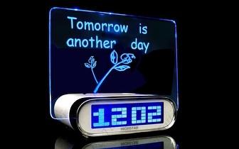 Despertador com Projeção de Mensagem Personalizável por apenas 24,90€!