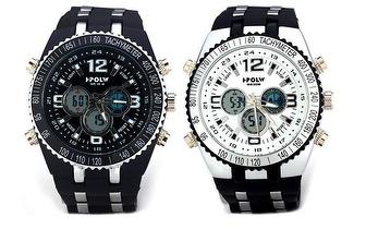 Relógio Desportivo Branco ou Preto de Homem por apenas 29,90€!